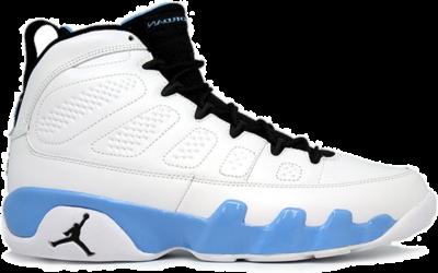 Air Jordan 9 Retro GS 'University Blue' 2010 White 302359-103
