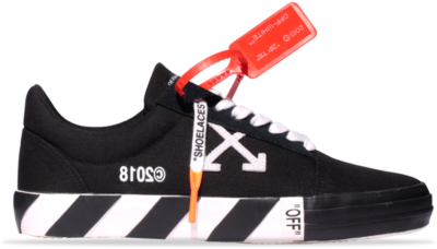 Off-White Vulc Low Top Sneakers Black Striped  182607M237002