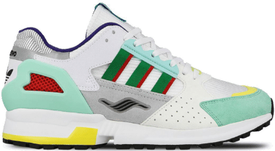 """Adidas x Overkill Consortium ZX 10000 C """"I CAN IF I WANT"""" (2019)  EE9486"""