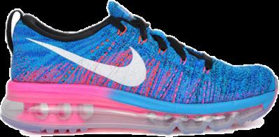 Nike WMNS Flyknit Air Max Blue Glow (2015) BLACK/BLUE GLOW/RACER BLUE/WHITE/PINK BLAST 620659-014