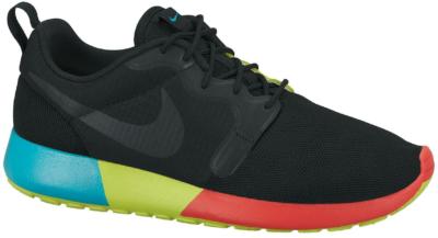 Nike Roshe Run Black Venom Green (GS) 642233-001