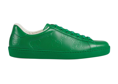 Gucci Ace Green GG 625787 1XK10 3727