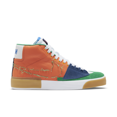 "Nike Skateboarding Zoom Blazer Mid Edge ""Safety Orange"" DA2189-800"