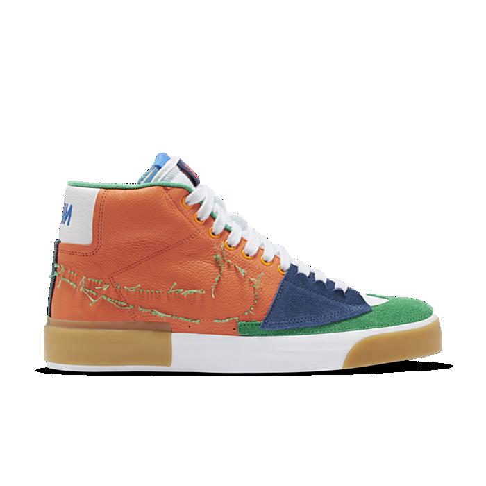 "Nike Skateboarding Zoom Blazer Mid Edge ""Safety Orange"" DA2189-800"