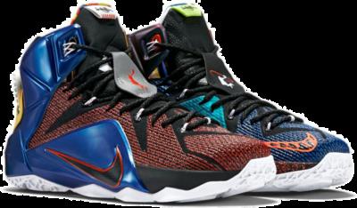 Nike LeBron 12 SE 'What The' Multi-Color 802193-909