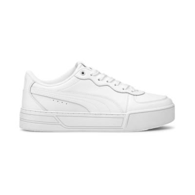 Puma Skye sportschoenen voor Dames Grijs / Wit / Zilver 374764_01