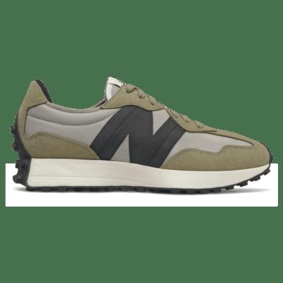 Herren New Balance 327 Aluminum/Covert Green MS327IB