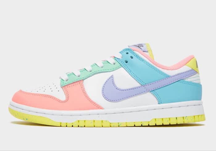 dunk nike low soft pink ghost