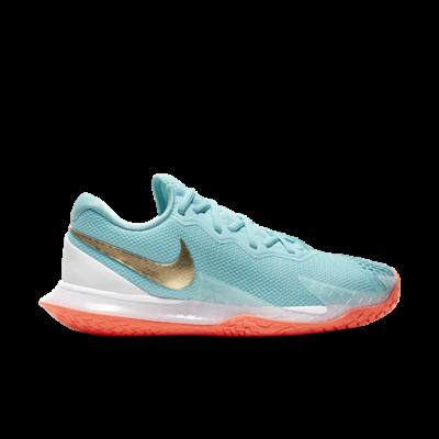 NikeCourt Air Zoom Vapor Cage 4 Hardcourt Blauw CD0431-400