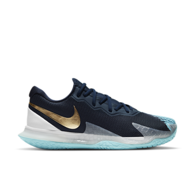 NikeCourt Air Zoom Vapor Cage 4 Hardcourt Blauw CD0424-401
