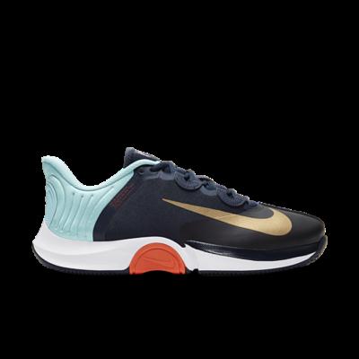 NikeCourt Air Zoom GP Turbo Hardcourt Blauw CK7513-400
