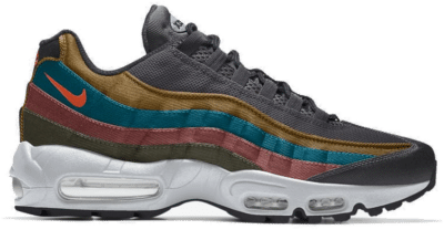 Nike Air Max 95 – By You – Grey Grey-blue-yellow-pink DM1182-991-Grey-blue-yellow-pink