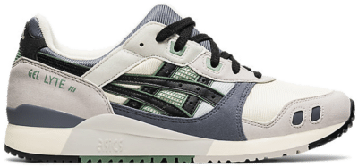 ASICS SportStyle GEL-LYTE III OG 'BACKSTREET OF JAPAN'-Footwear Sail / Grey / Black / Olive 1201A051-750