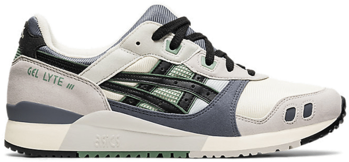 ASICS SportStyle GEL-LYTE III OG 'BACKSTREET OF JAPAN'-Footwear Sail / Grey / Black / Olive 1201A051-750