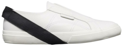 SUPERGA Leam Seok Heren Leren sneakers S00CLI0YGS001 wit S00CLI0YGS001