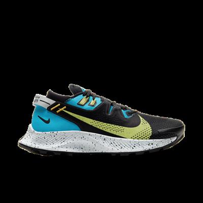 Nike Wmns Pegasus Trail 2 'Laser Blue Limelight' Black CK4309-003
