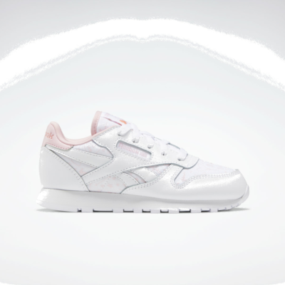 Reebok Classic Leather White / Pink Glow / Twisted Coral FX2510