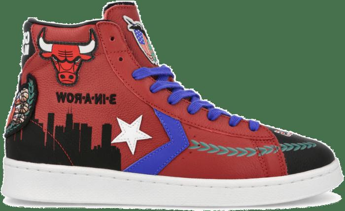 Chinatown Market x NBA x Jeff Hamilton x Converse Pro Leather ( 171241C )  171241C