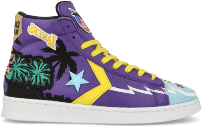 Chinatown Market x NBA x Jeff Hamilton x Converse Pro Leather ( 171240C )  171240C