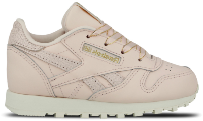 Reebok Classic Leather Infants ( DV9625 ) -18.5 Pale Pink / Chalk / Gold DV9625