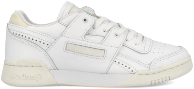Reebok Workout Low Plus Sneaker Wit,Beige FV2381