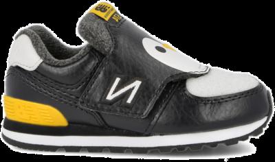 New Balance IV 574 AQP ( 813640-20-81 )-18.5 Black / Yellow 813640-20-81