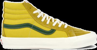 Vans OG Sk8-Hi LX 'Green Sulphur' Yellow VN0A4BVBXEM