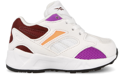 Reebok Aztrek 96 Infants ( DV9659 )-18.5 White / Porcelain / Maroon DV9659
