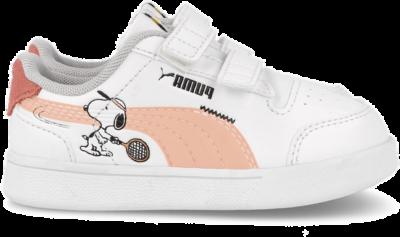 PUMA sneakers PEANUTS Puma Shuffle V Inf wit