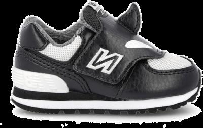 New Balance IV 574 AQO ( 824780-20-8 )-20 Black / White 824780-20-8