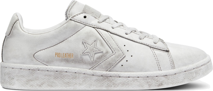 Converse Smoked Pro Leather Low Top White Smoke In 169122C