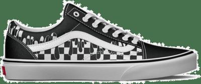 VANS Paint Drip Checkerboard Old Skool  VN0A7Q2J6UP