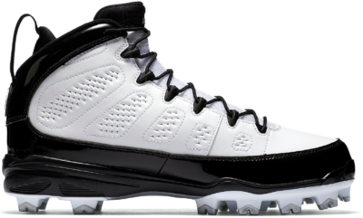 Jordan 9 Retro MCS Cleat RE2PECT White Black AA1264-100