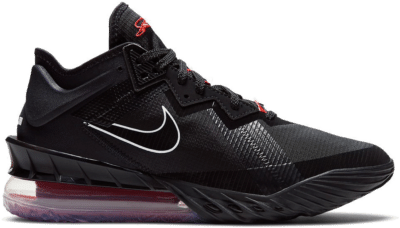 Nike Lebron 18 Low Black Red CV7562-001