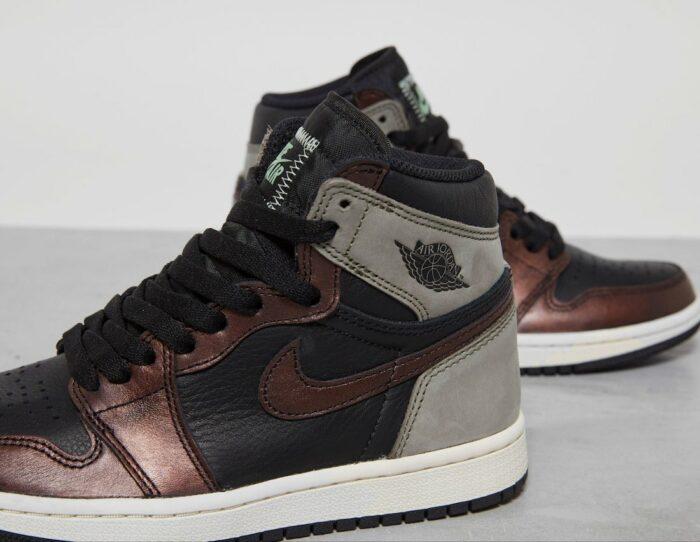 patina Air Jordan nike 1