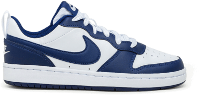Nike Court Borough Low 2 White Blue Void (GS) BQ5448-107