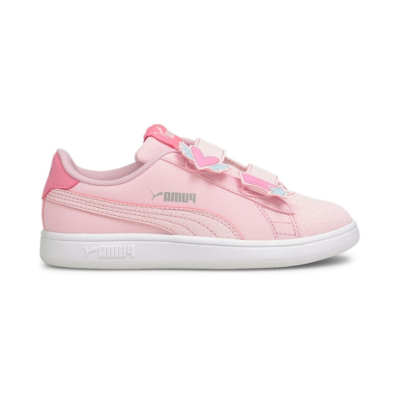 Puma Smash v2 Unicorn sneakers kinderen Roze 368790_01