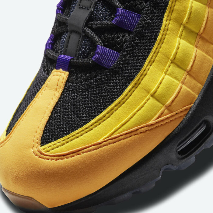 Angeles lakers la nike max air