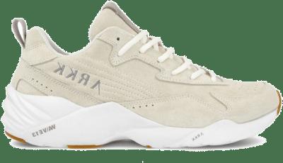 Arkk Sneakers Tencraft Suede W13 – Beige/wit Bruin CR6100-0178-M