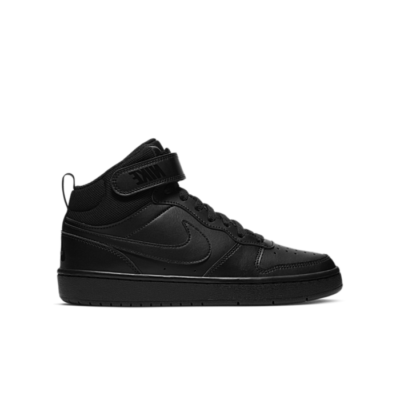 Nike Court Borough Mid 2 Black (GS) CD7782-001