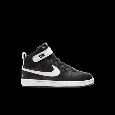 Nike Court Borough Mid 2 Zwart CD7783-010