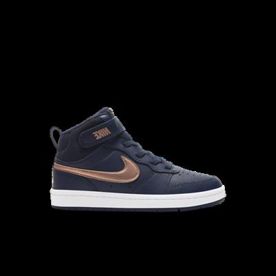Nike Court Borough Mid 2 Blauw CD7783-400