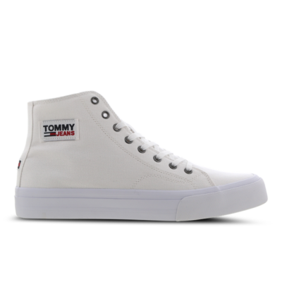 Tommy Jeans Recycled Cotton High-Top White EM0EM00662YBR
