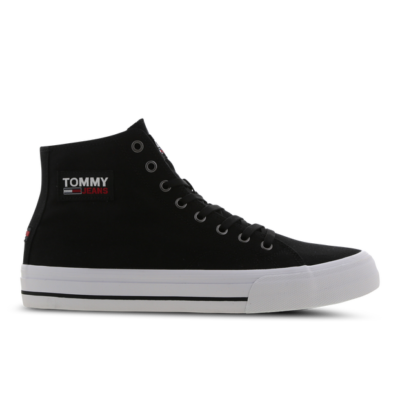 Tommy Jeans Recycled Cotton High-Top Black EM0EM00662BDS