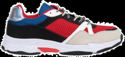 ENRICO COVERI Scarlet Black Heren Sneakers ECM91379701 meerkleurig ECM91379701