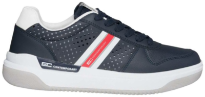 ENRICO COVERI Navy Heren Sneakers ECM01876502 blauw ECM01876502