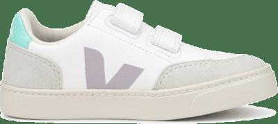 Veja V12 Velcro Junior Extra White Parme VSV052154