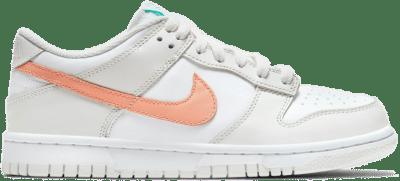 Nike Dunk Low White Bone Peach Aqua (GS) CW1590-101