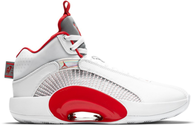 Jordan XXXV Fire Red (White Sole) CQ4228-100