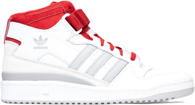 adidas Forum Mid White Red Grey FY6819